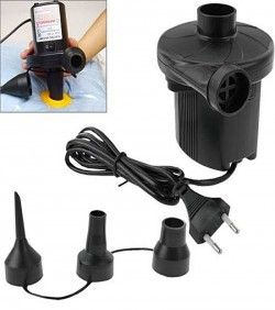 Electric Air Pumper for Inflatable Furniture – Black