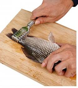 Fish Scales Remover - Silver