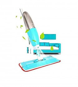 Microfiber 360 Rotating Spray Mop - Blue
