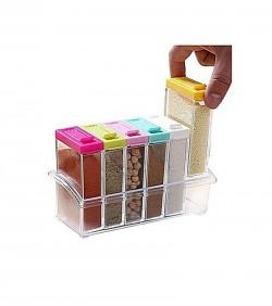 Seasoning Six Piece Set - Transparent