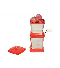 Multi Functional Onion Chopper - Red and White