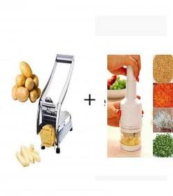 Vegetable And Potato Chopper Combo