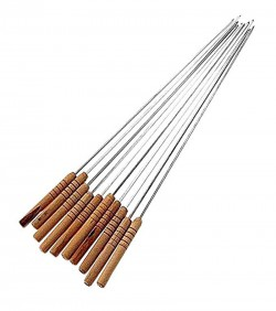 2 Pieces Barbecue Grill Sticks Set