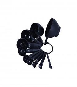 Homebiz Bd Plastic Heavy Duty Measuring Spoon - Black
