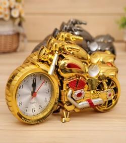 Bike Shape Table Clock for Home & Office - 1645