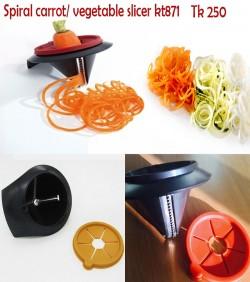 Spiral carrot/vegetable Slicer kt871
