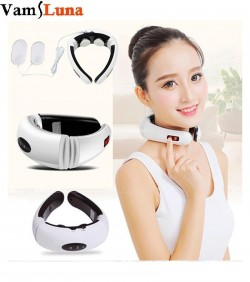 neck massager with therapy