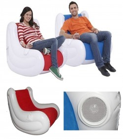 Inflatable Air Chair with Music Horns AF-06