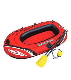 Bestway Fishing, Camping And Traveling Air Boat - Red