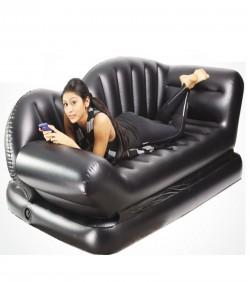 Air Lounge Comfort Sofa Bed - Black