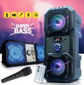 KTS 1048 Rechargeable Karaoke Speakers.