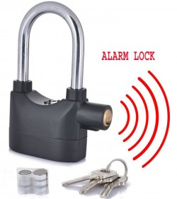 Medium size Alarm Lock - Black