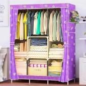 printed Wardrobe Storage Organizer for Clothes