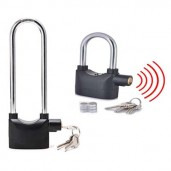 2 in 1 alarm lock for bike ,home ,office (High with Medium Size)