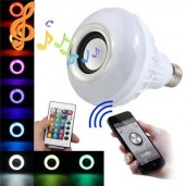 LED Bluetooth  Music  Speaker with 7 color  Bulb