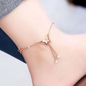 https://www.tamabil.com/Butterfly Anklet Rose Gold