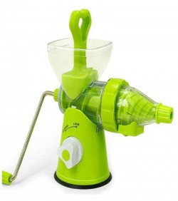 Manual Hand juicer-green